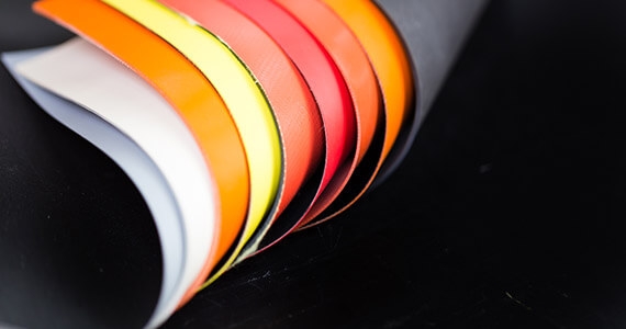 CSM (Hypalon®) COATED POLYESTER FABRIC | Colmant Coated